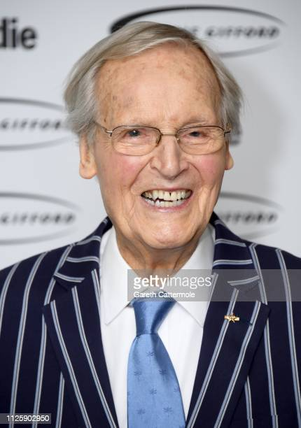 Nicholas Parsons attends The Oldie of the Year Awards held at Simpson's In The Strand on January 29 2019 in London England