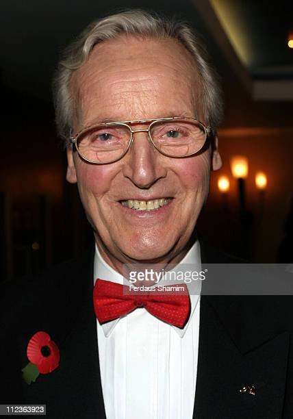 Nicholas Parsons during 21st Annual Celebrities Guild Unsung Heroes Awards at Royal Garden Hotel London in London United Kingdom