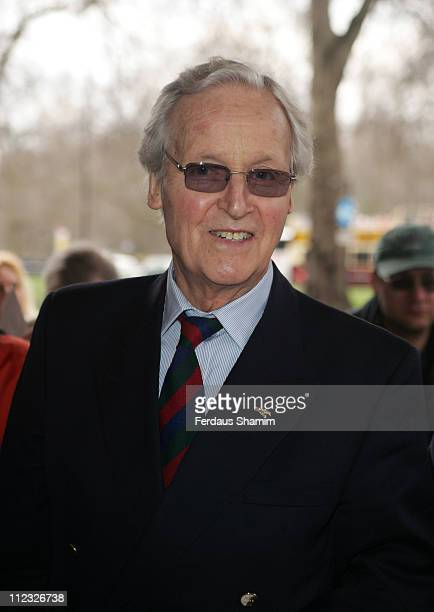 Nicholas Parsons during Lunch Memorial for Sir John Mills at the Grosvenor House Hotel in London April 9 2006 at Grosvenor House Hotel in London...