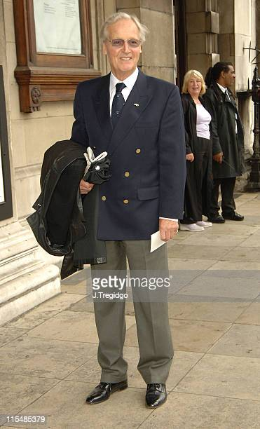 Nicholas Parsons during Sir John Mills Memorial Service at St Martin in the Fields in London Great Britain