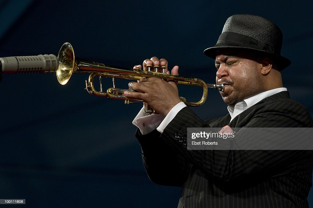 Nicholas Payton performs at the New Orleans Jazz & Heritage Festival on April 30, 2010 in New Orleans, Louisiana.