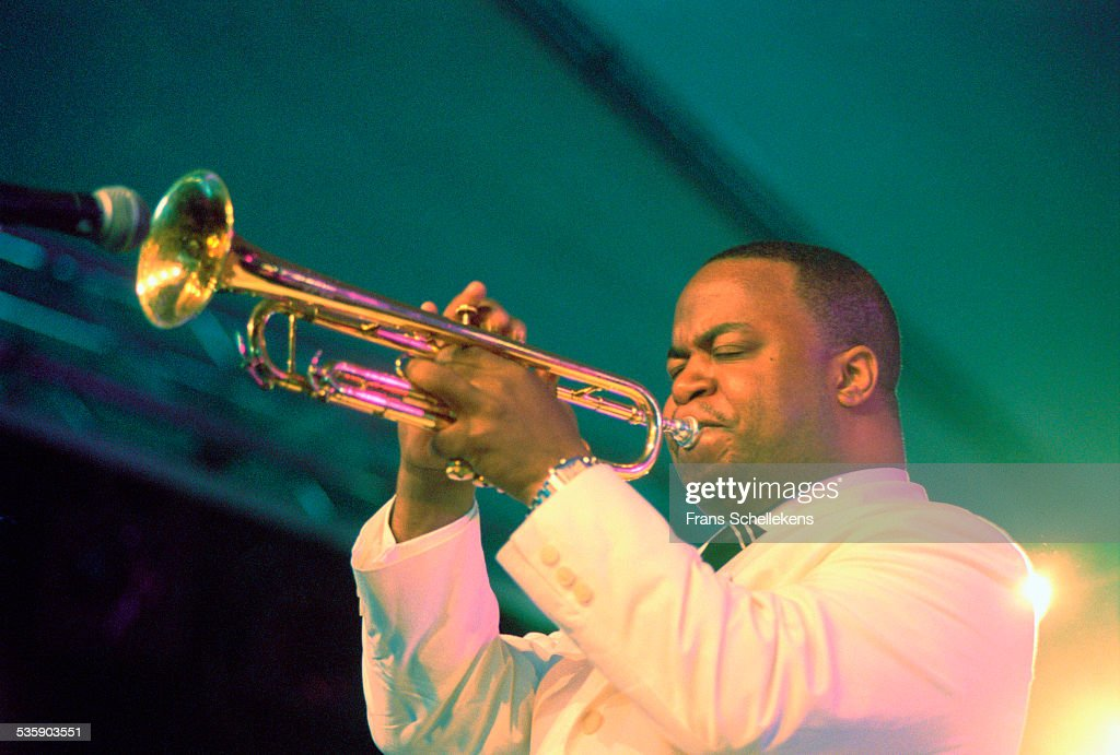 Nicholas Payton, trumpet, performs on July 14th 2001 at the North Sea Jazz Festival in the Hague, Netherlands.