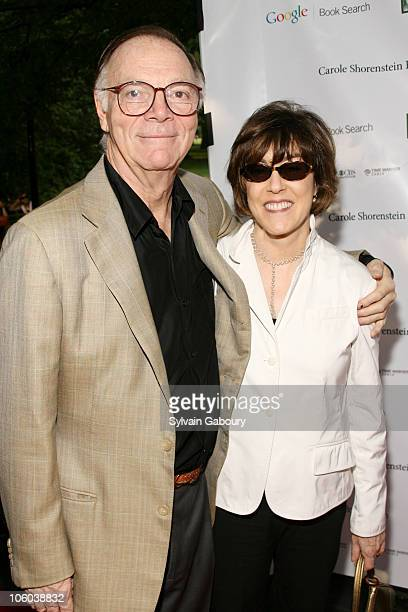Nicholas Pileggi and Nora Ephron during Public Theater Gala and Opening of Shakespeare in the Park at Delacourt Theater, Central Park in New York,...