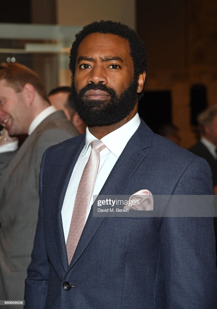 Nicholas Pinnock attends the Montblanc de la Culture Arts Patronage Award for the work of the Genesis Foundation at The British Museum on October 12, 2017 in London, England.
