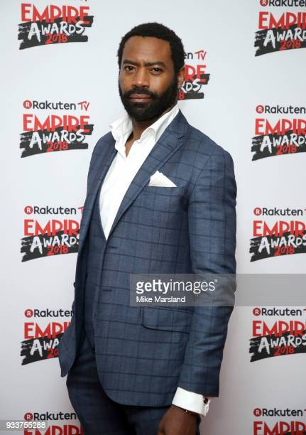 Nicholas Pinnock attends the Rakuten TV EMPIRE Awards 2018 at The Roundhouse on March 18 2018 in London England