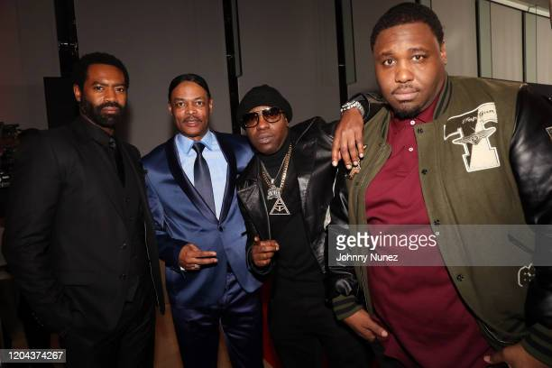 Nicholas Pinnock Isaac Wright Jr Uncle Murda and Mike Knox attend ABC's For Life New York Premiere at Alice Tully Hall Lincoln Center on February 05...