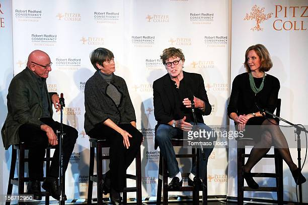 Nicholas Pritzker Susan Pritzker Robert Redford and Laura Skandera Trombley attend the Pitzer College Names New Conservancy honoring Robert Redford...