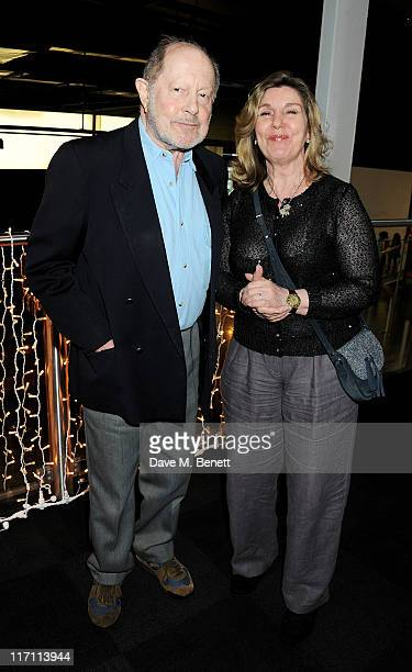 Nicholas Roeg and wife Harriet Roeg attend the BFI Chairman's Dinner honouring Dame Judi Dench with the prestigious BFI Fellowship Award hosted by...