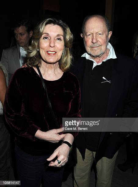 Nicholas Roeg attends Charles Finch and Evgeny Lebedev's dinner for film and art on October 20, 2010 in London, England.