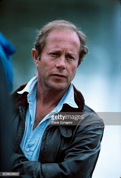 Nicholas Roeg during the filming of The Man Who Fell to Earth