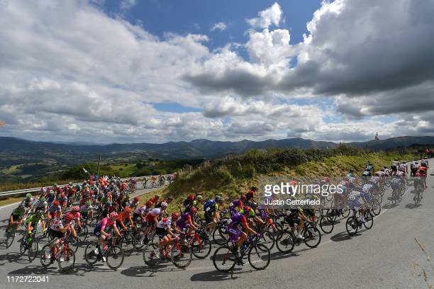 Nicholas Schultz of Australia and Team Mitchelton-Scott / Maximiliano Ariel Richeze of Argentina and Team Deceuninck-QuickStep / Logan Owen of The...