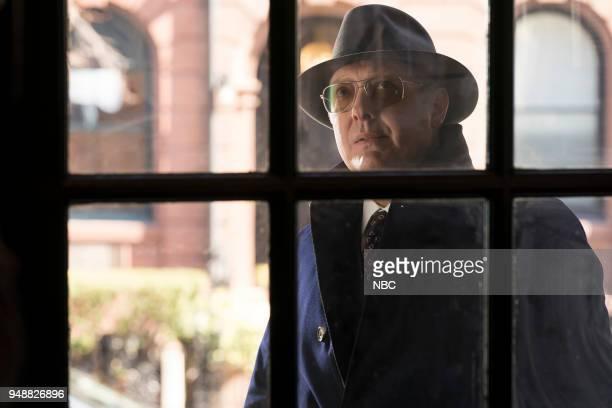 THE BLACKLIST Nicholas T Moore Episode 520 Pictured James Spader as Raymond Red Reddington