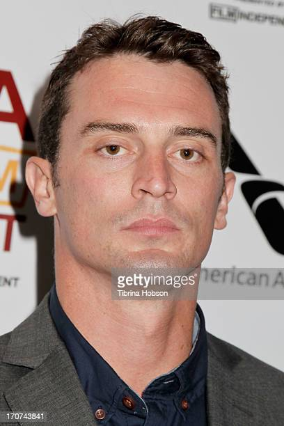 Nicholas Tucci attends the 'You're Next' premiere at the 2013 Los Angeles Film Festival at American Airlines Theater on June 16 2013 in Los Angeles...