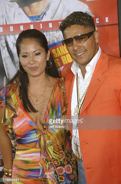 Nicholas Turturro and Lissa Espinosa during The Longest Yard Los Angeles Premiere Arrivals at Grauman's Chinese Theater in Hollywood California...