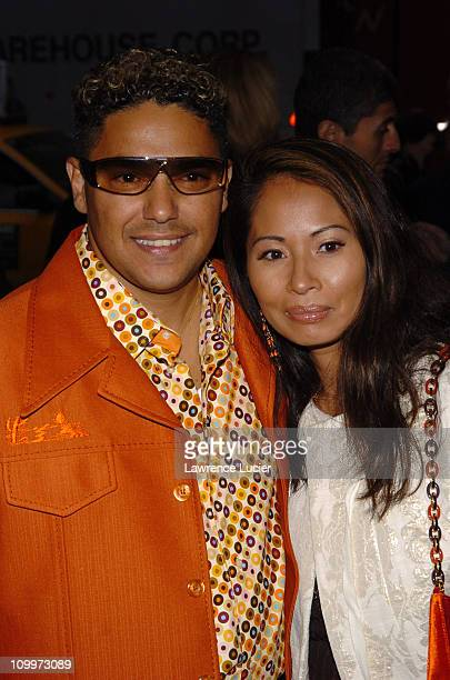 Nicholas Turturro and Lissa Espinosa during The Longest Yard New York City Premiere at Clearview's Chelsea West Cinema in New York City New York...