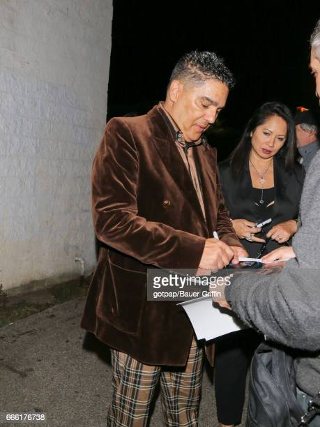 Nicholas Turturro is seen on April 07 2017 in Los Angeles California