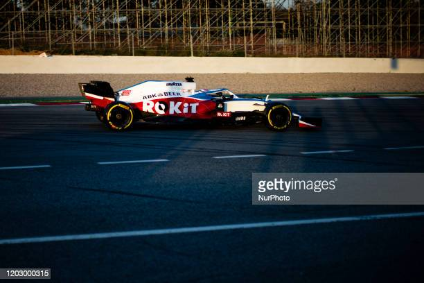 Nicholas Williams Racing F1 FW43 action during the Formula 1 Winter Tests at Circuit de Barcelona Catalunya on February 21 2020 in Barcelona Spain