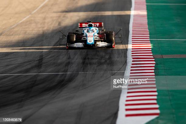 Nicholas Williams Racing F1 FW43 action during the Formula 1 Winter Tests at Circuit de Barcelona Catalunya on February 26 2020 in Barcelona Spain