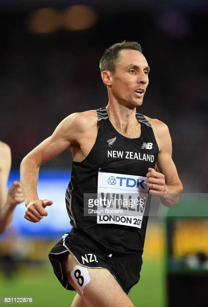 Nicholas Willis of New Zealand competes in the Men's 1500 metres final during day ten of the 16th IAAF World Athletics Championships London 2017 at...