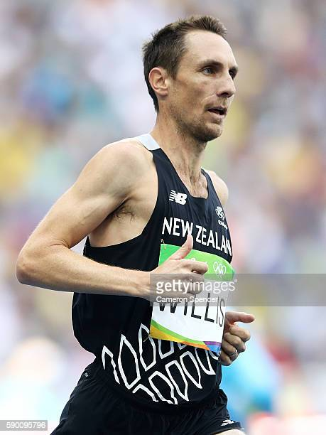 Nicholas Willis of New Zealand competes in the Men's 1500 metres first round on Day 11 of the Rio 2016 Olympic Games at the Olympic Stadium on August...