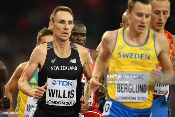 Nicholas Willis of New Zealand competes in the Men's 1500 metres semi finals during day eight of the 16th IAAF World Athletics Championships London...
