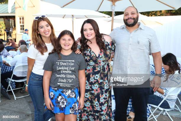 Nichole Bloom Mackenzie Hancsicsak Lauren Ash and Colton Dunn attend 'Beyond Hunger West Meets East' brought to you by NBC Universal and Heifer...