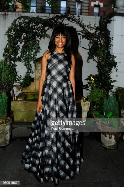 Nichole Galicia attends OWN With The Cinema Society Host A Party For Ava DuVernay And 'Queen Sugar' at Laduree Soho on May 20 2018 in New York City