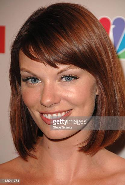 Nichole Hiltz arrives at the NBC Universal 2008 Press Tour AllStar Party at The Beverly Hilton Hotel on July 20 2008 in Beverly Hills California