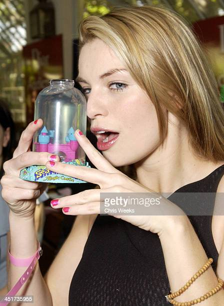 Nichole Hiltz at Sea Monkeys during Cabana Beauty Buffet presented with Allure Magazine Day 2 at Chateau Marmont Hotel in West Hollywood California...