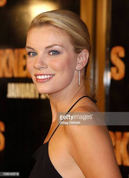 Nichole Hiltz during Darkness Falls Premiere Los Angeles at Mann National Theatre in Westwood California United States