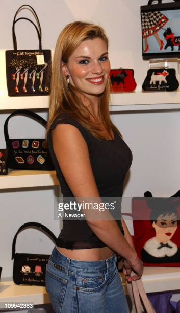 Nichole Hiltz during Lucky Magazine and Lulu Guinness Host Holiday Party at the Lulu Guinness Boutique in Los Angeles at The Lulu Guinness Boutique...