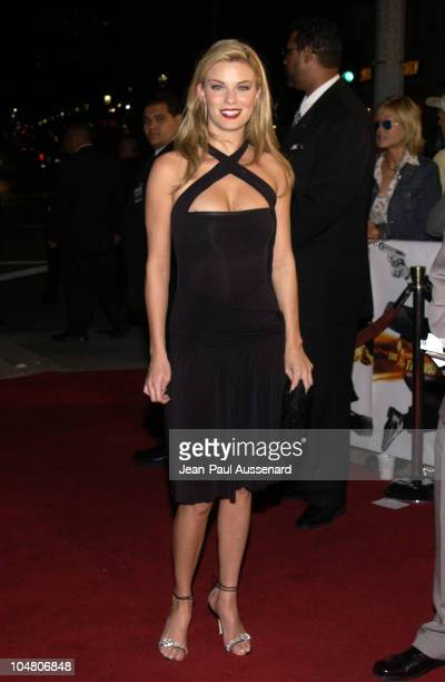 Nichole Hiltz during The Transporter Premiere at Mann Village Theater in Westwood California United States