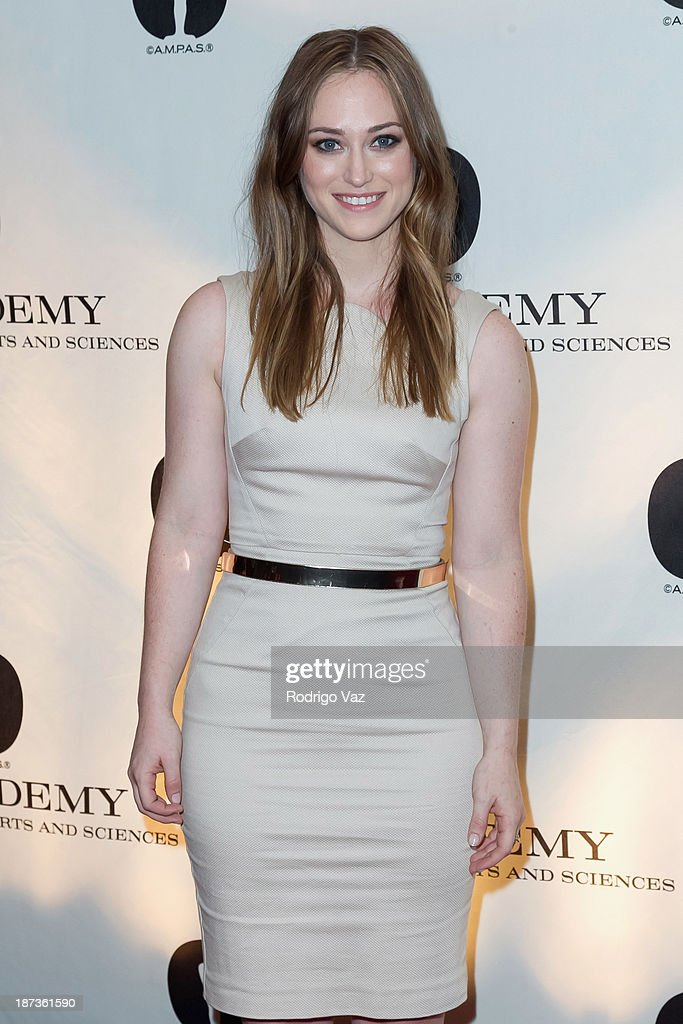 Nicholl Fellow Stephanie Shannon attends the 2013 Academy Nicholl Fellowships In Screenwriting Awards hosted by AMPAS at AMPAS Samuel Goldwyn Theater on November 7, 2013 in Beverly Hills, California.