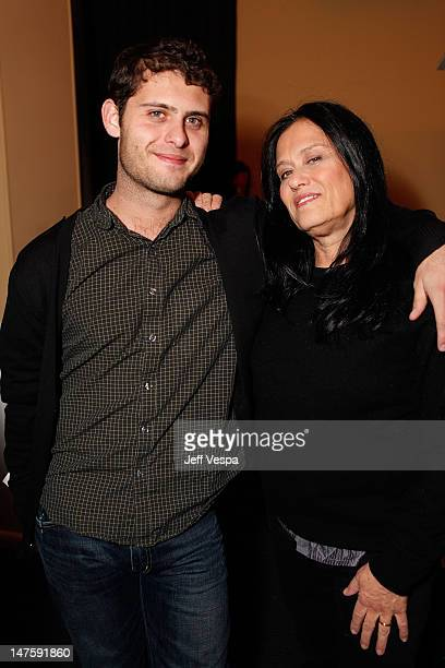 Nicholos KopplePerry and Barbara Kopple at the Entertainment Weekly WOW Party at The Lift on January 17 2009 in Park City Utah