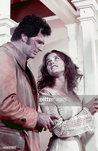 NICHOLS 'Nichols' Episode 101 Pictured James Garner as Nichols Margot Kidder as Ruth