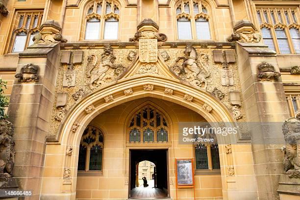 Nicholson Museum, Main Quadrangle, Sydney University.