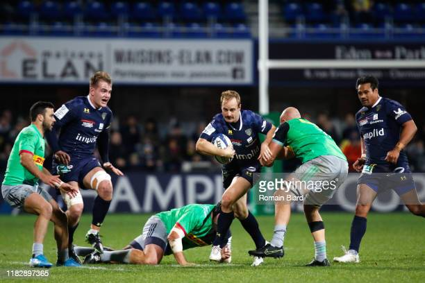 Nick ABENDANON of Clermont during the European Rugby Champions Cup Pool 3 match between ASM Clermont Auvergne and Harlequin FC on November 16 2019 in...