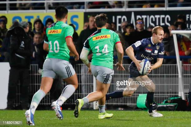 Nick ABENDANON of Clermont during the European Rugby Champions Cup, Pool 3 match between ASM Clermont Auvergne and Harlequin FC on November 16, 2019...