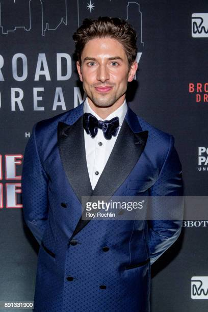 Nick Adams attends the 10th Annual Broadway Dreams Supper at The Plaza Hotel on December 12 2017 in New York City