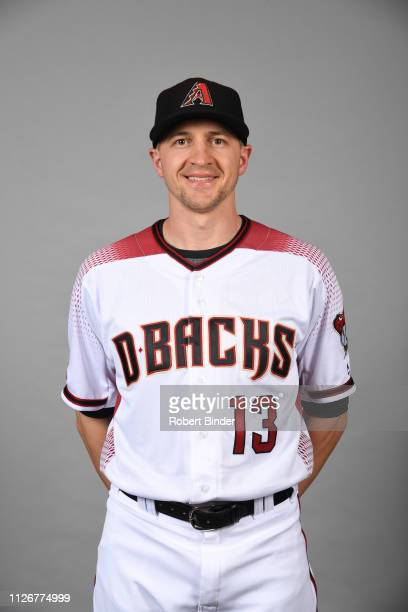 Nick Ahmed of the Arizona Diamondbacks poses during Photo Day on Wednesday February 20 2019 at Salt River Fields at Talking Stick in Scottsdale...