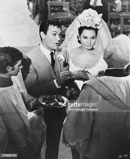 Nick and Francesca are married each believing the other to be a multimillionare in a scene from Drop Dead Darling The films costars Lionel Jeffries...