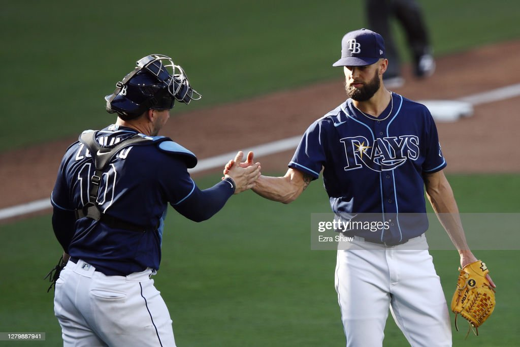 League Championship - Houston Astros v Tampa Bay Rays - Game Two : News Photo