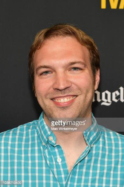 Nick Andert attends the 2018 LA Film Festival screening of Behind The Curve at ArcLight Hollywood on September 22 2018 in Hollywood California