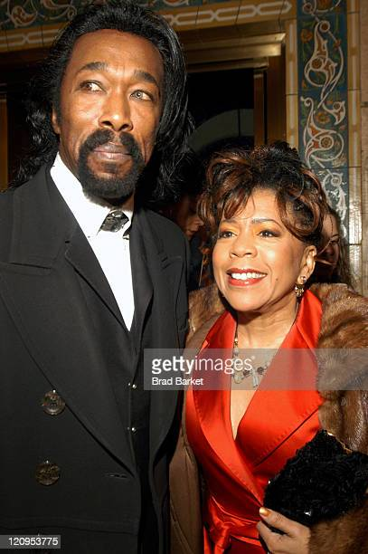 Nick Ashford and Valerie Simpson during Alvin Ailey American Dance Theater 45th Anniversary Gala at City Centre in New York City New York United...