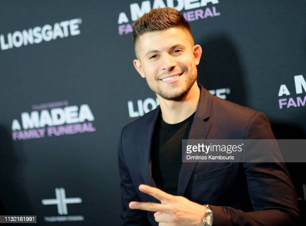 Nick Barrotta attends a screening for Tyler Perry's A Madea Family Funeral at SVA Theater on February 25 2019 in New York City