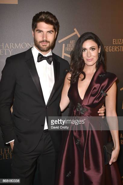 Nick Bateman Maria Corrigan attend the Mariinsky Orchestra Concert in honor of Henry Segerstrom and the 50th anniversary of South Coast Plaza on...