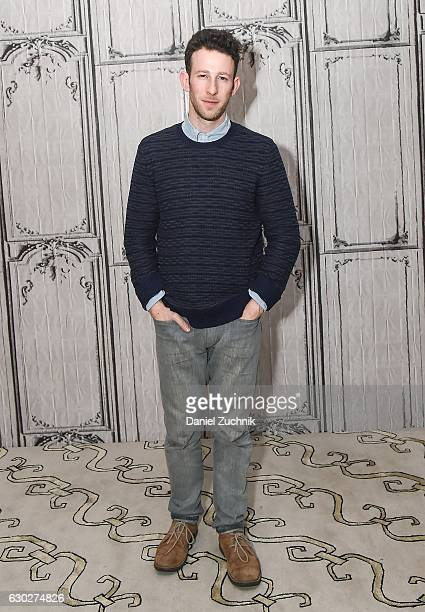 Nick Blaemire attends AOL Build to discuss his album and show 'The Ampersand' 'Tick TickBOOM' at AOL HQ on December 19 2016 in New York City