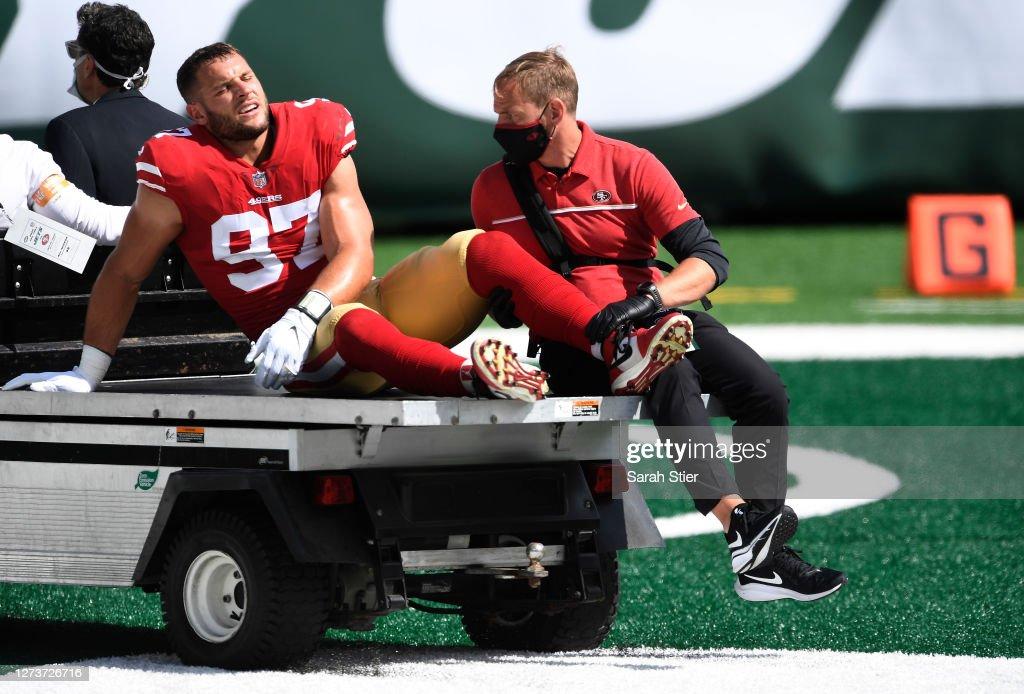 San Francisco 49ers v New York Jets : News Photo