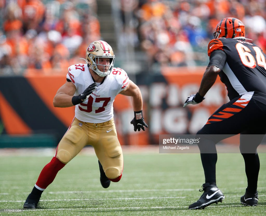 San Francisco 49ers v Cincinnati Bengals : News Photo