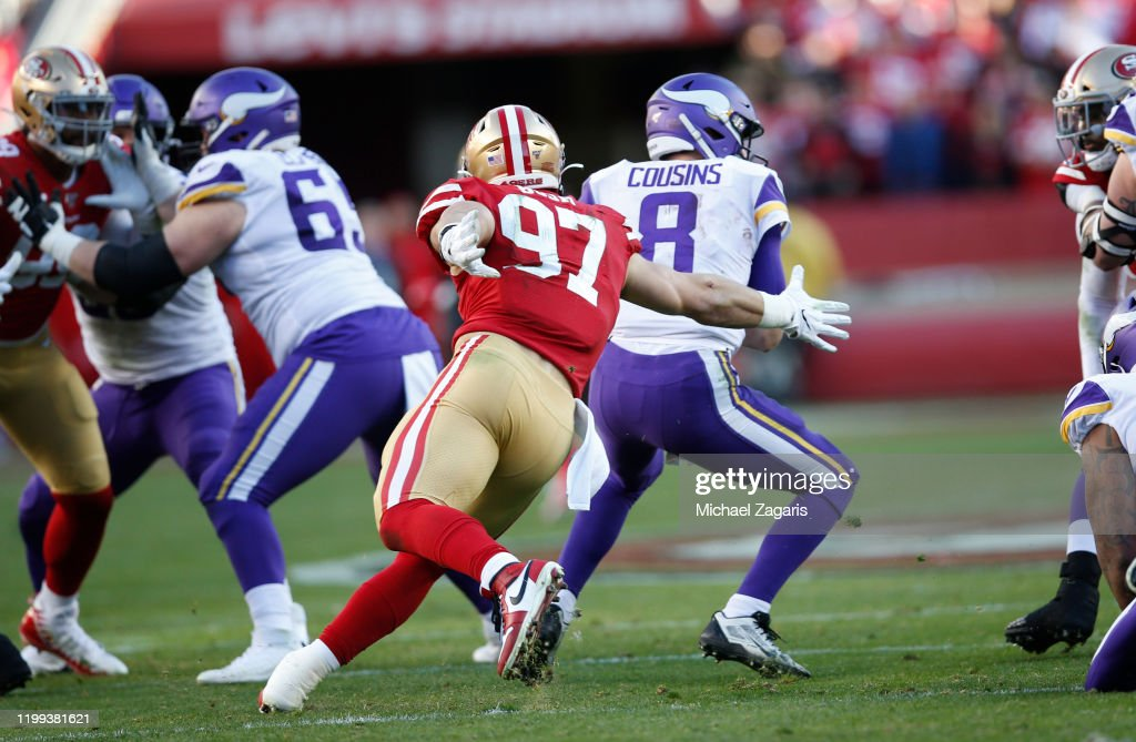 Divisional Round - Minnesota Vikings v San Francisco 49ers : News Photo